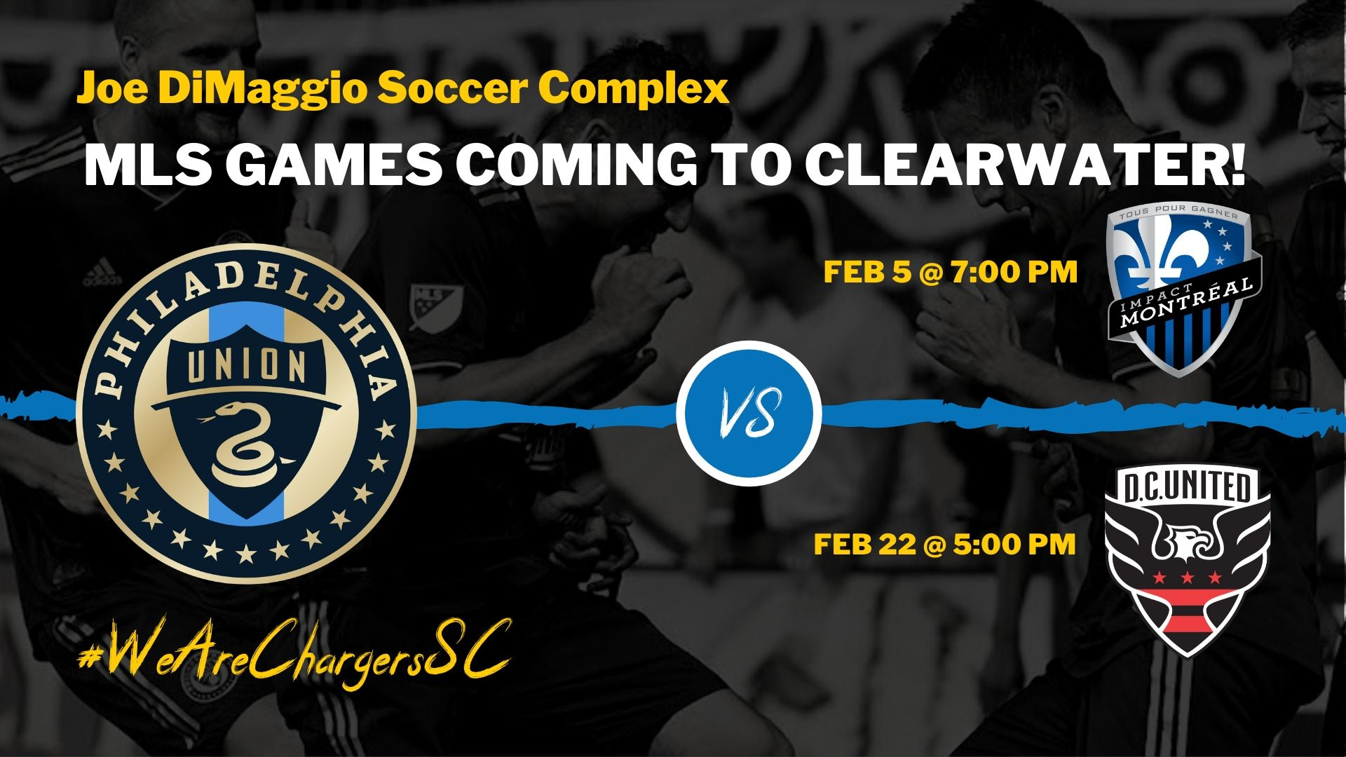 City of Clearwater Hosts 2 Philly Union Pre-Season Games