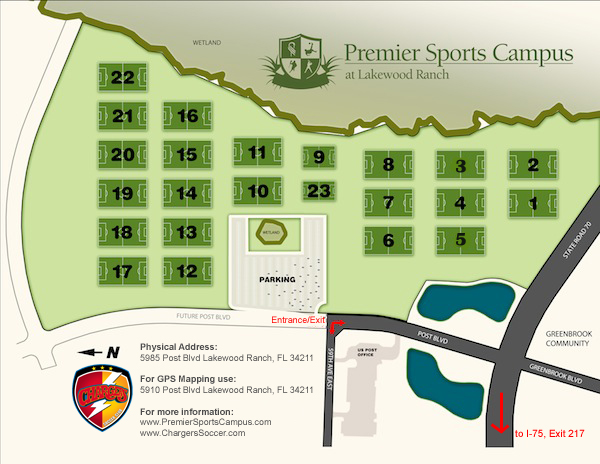 Premier Sports Campus Chargers Soccer Club