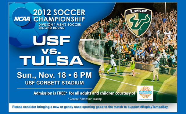 Watch USF Mens Soccer in the NCAA Tournament for Free