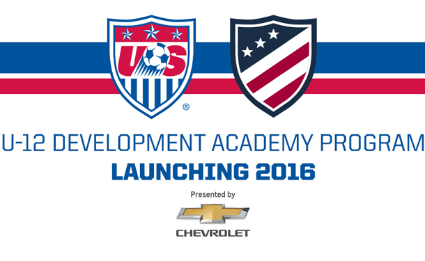 Development Academy Launches U-12 Program