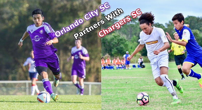 Chargers Partner with Orlando City SC